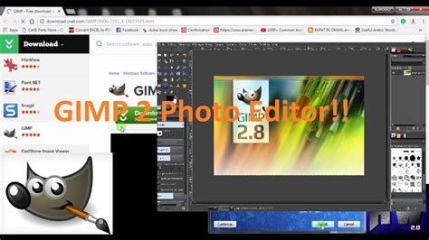 tutorial software gimp how to download and install gimp 2 photo editing software