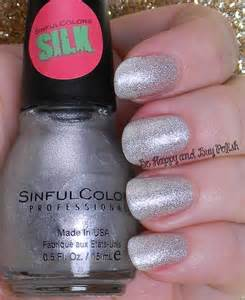sinful colors silk and textured nail polish swatches