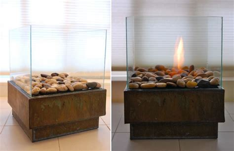 portable glass fireplace portable glass fireplace diy home decorating trends