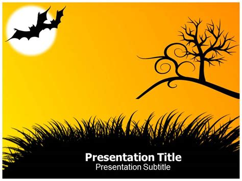 free powerpoint halloween masks templates and backgrounds