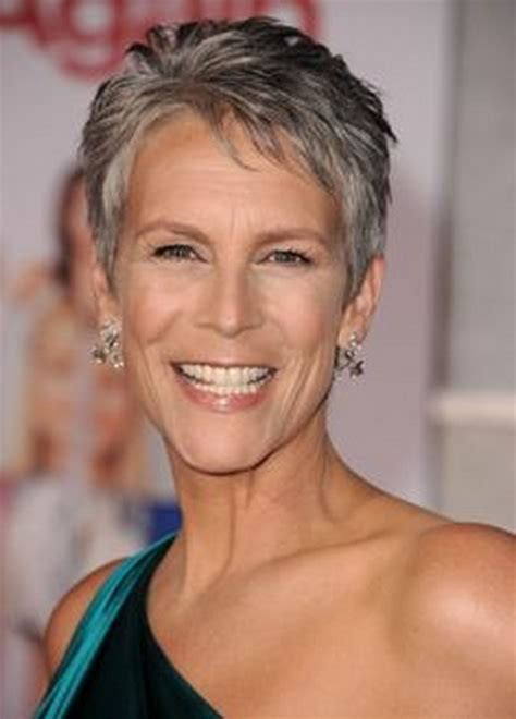 salt and pepper short hairstyles for women over 50 salt and pepper hairstyle for women