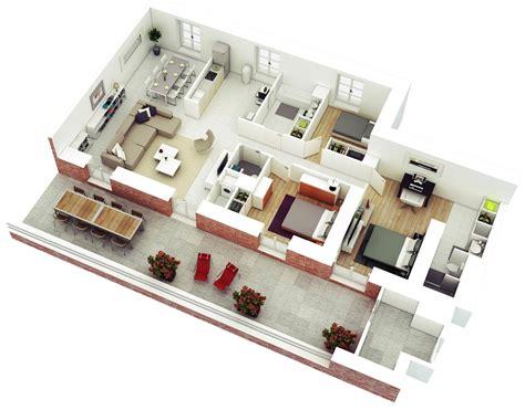 planos de casas en mexico school cus photos 25 planos geniales en 3d para distribuci 243 n de planta
