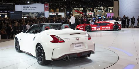 nissan 380z convertible 2015 nissan 370z nismo roadster vehicles on display