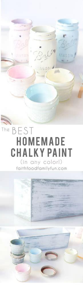 best chalk paint recipe with infinite color options calcium carbonate