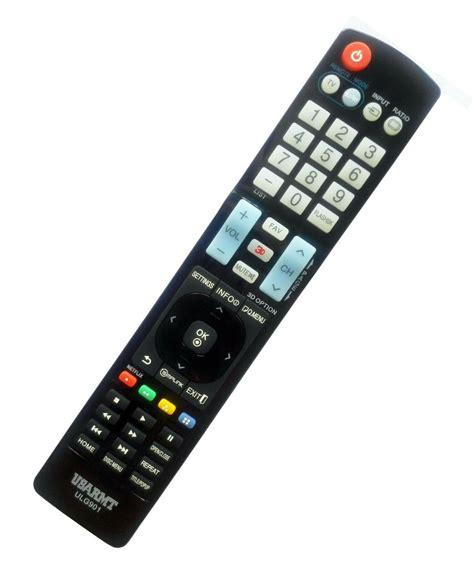 Remot Tv Lg Tabung new lg tv dvd player universal remote by usarmt no programming needed ebay