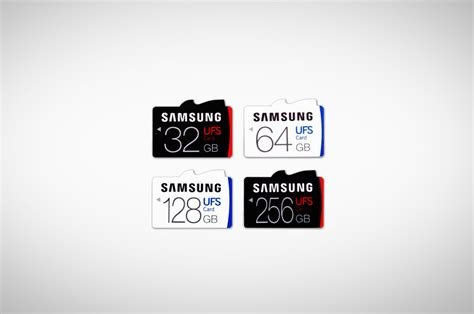 Samsung Microsd 256 samsung stomps on the microsd card with ufs line of cards