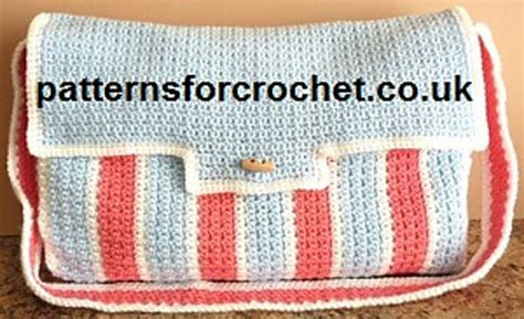 free crochet pattern baby bag crochet patterns galore diaper bag