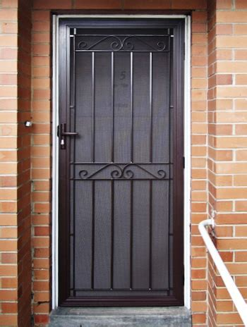 Metal Security Doors by Seaford Aluminium Steel Security Door