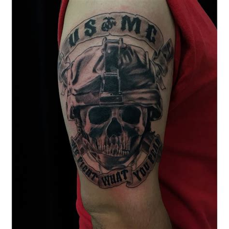 tattoo gallery military collection of 25 half sleeve usmc military tattoo design