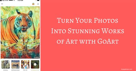 Turn Boring Style Into A Stunning One With This Backpack goart turn your photos into stunning works of theapptimes