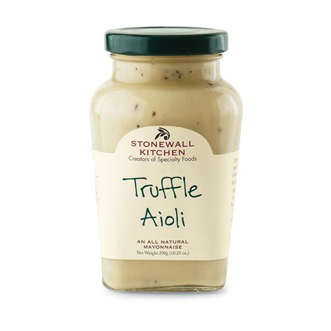 stonewall kitchen truffle aioli s table