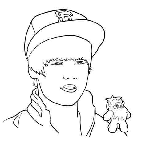 justin bieber coloring pages coloring ville