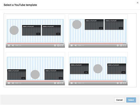 Youtube Tip Create Captivating End Screens For Your Videos End Screen Template