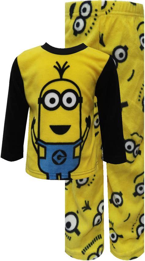 Pajamas Minion webundies despicable me 2 minion warm and cozy fleece pajamas