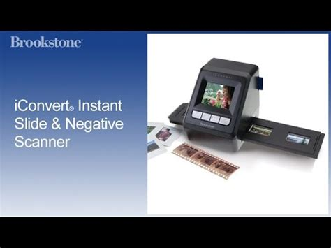 easy slide negative scanner film2usb converter iconvert videolike