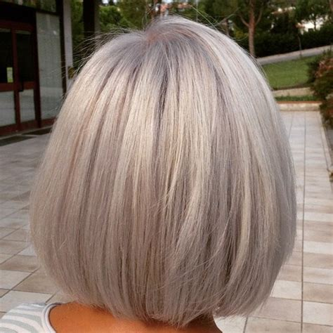 Grey Bob Hairstyles by 60 Gorgeous Grey Hair Styles Bobs Bobs And