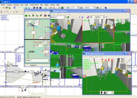cctv layout design software videocad program for professional cctv system design
