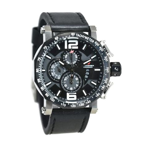 Chronoforce Silver Gold Black Jam Tangan Pria Original harga chronoforce jam tangan pria 5259 silver hitam pricenia