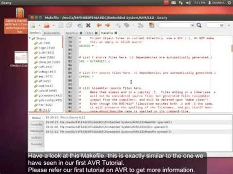 embedded linux tutorial youtube getting started with avr part 3 avr programming under