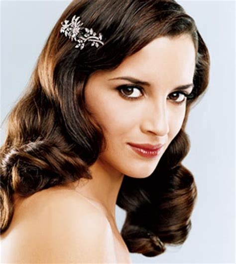 elegant vintage hairstyles for long hair retro chic hairstyles for special occasions