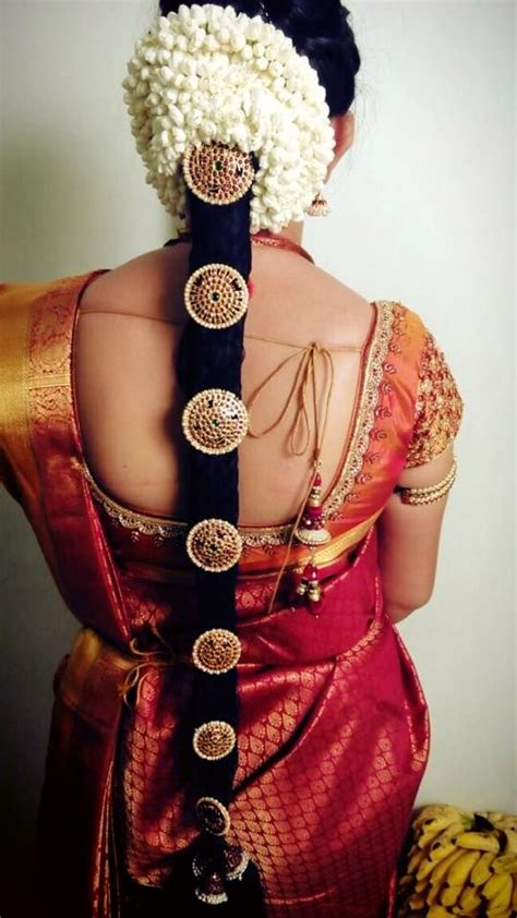 braided hairstyles on saree traditional southern indian bride s bridal braid hair