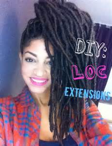 marley hair extensions loc extensions with marley hair tutorial