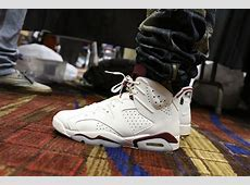 Sneaker Con Chicago Brought All The Air Jordan On-Feet ... Retro 6 Maroon