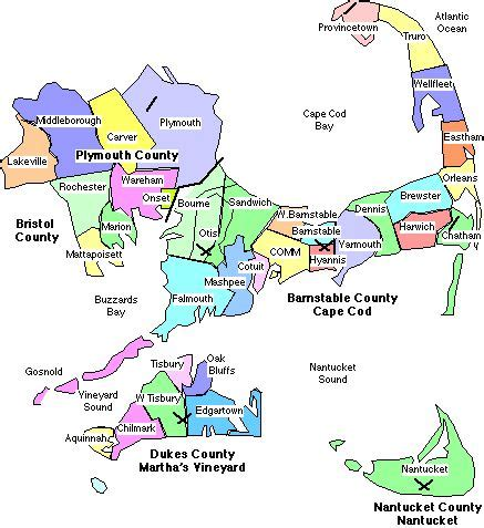 cities in cape cod capecod