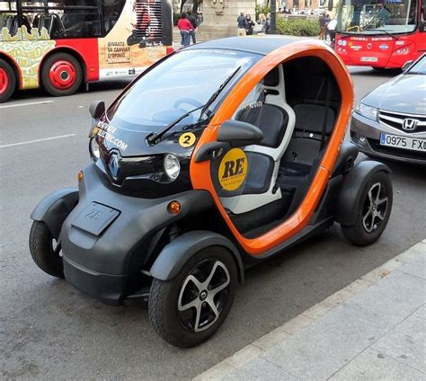 Two Seater Electric Car by Renault 2 Seater Electric Car Cars And Trucks