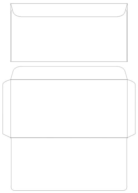 template for printing envelopes envelope printing template