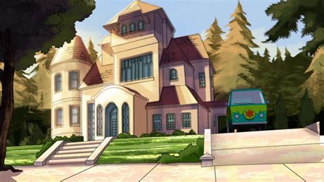 fred jones s mansion scooby doo and the beastie