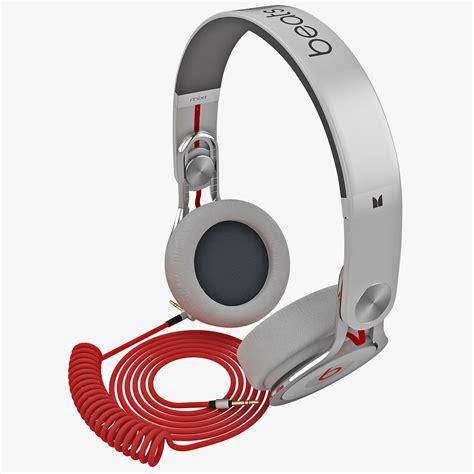 Headset Beats Original Di Indonesia headphones beats mixr 3d model