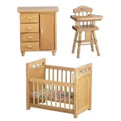 3 pc oak nursery set