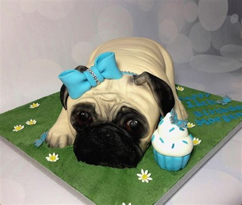 pug cake decorations pug birthday cake by dragons and daffodils cakes cakes cake decorating daily