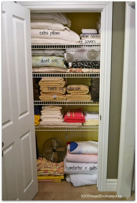 shallow linen closet organization storage ideas pinterest organizing the linen closet organization pinterest