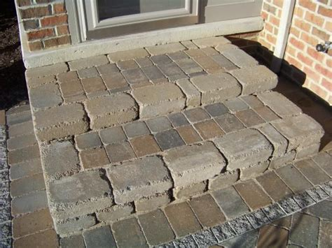 How To Make A Patio Out Of Pavers Paver Stairs How To Build Website Building Software Website Design Tools By Homestead