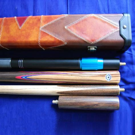 Handmade Pool Cues Uk - handmade 4 ash snooker pool cue set with rosewood