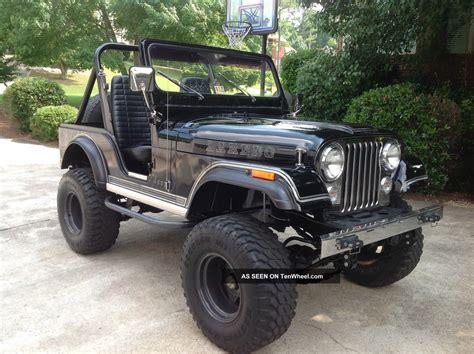 cj jeep lifted 1982 jeep cj 5 laredo unrestored cj lifted paint 205