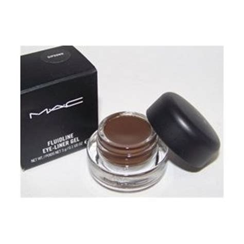 Mac Brow Gel mac fluidline eye liner gel dipdown brown store