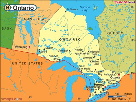 map of ontario canada showing cities introducing the city of bay ontario skyscrapercity