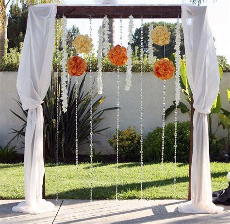 Wedding Arbor Decoration by Wedding Arbor Decorations Fall Wedding