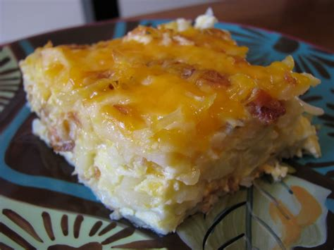 ham egg cheese hashbrown breakfast casserole
