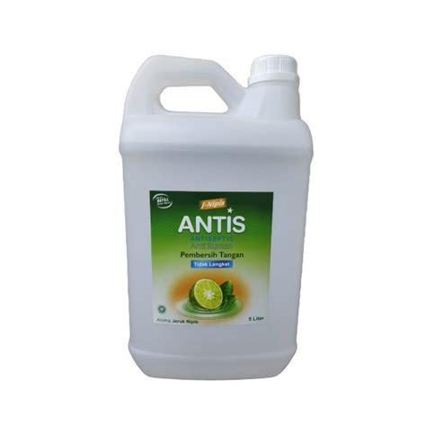 antis  liter jeruk nipis hand sanitizer spray gel shopee indonesia