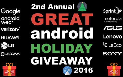 Great Giveaway - giveaway the great android holiday pintereste giveaway
