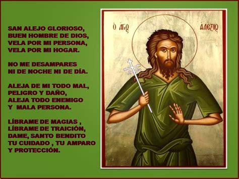 San Alejo Oracion Para Alejar Malas Lenguas Enemigos | oraciones milagrosas y poderosas san alejo oracion para