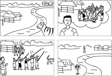 how to create a story create a storyboard with words and with pictures 187 frogleaps