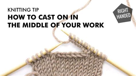 how to cast on stitches in the middle of knitting 1000 ideas about to cast on is witchcraft