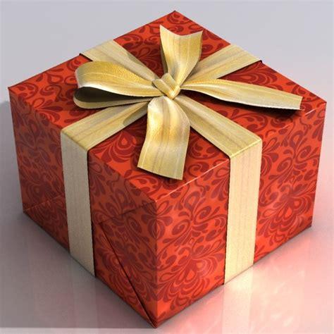 Hadiah Boneka Wisudu Free Box present box 3d model