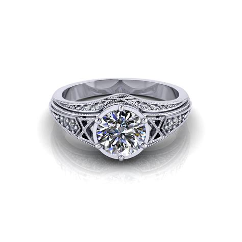Filigree Engagement Ring by Filigree Engagement Ring Jewelry Designs