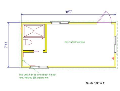 Tortoise House Plans The Box Turtle